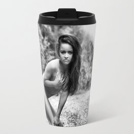 Nude in Nature by MB Travel Mug