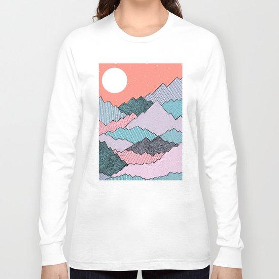 Mountain Tones Long Sleeve T-shirt