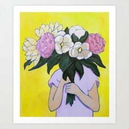 Posy I / Blooms Art Print
