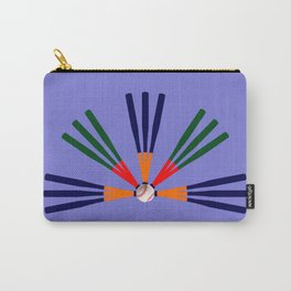 Baseball Bat and Ball Design Carry-All Pouch