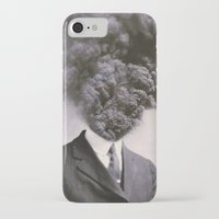 power iPhone & iPod Cases featuring Outburst by J U M P S I C K ▼▲
