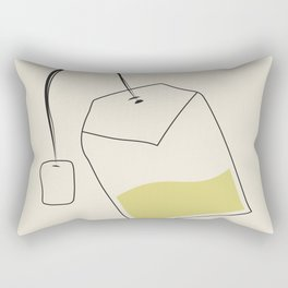 tea bag Rectangular Pillow