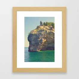 Some Sunny Day in Michigan Framed Art Print