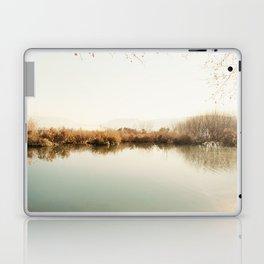 Autumn Lake Scene Laptop & iPad Skin