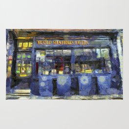 Ye Old Shambles Tavern York Art Rug