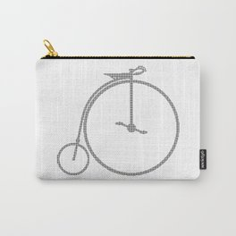 Penny Farthing Halftone Carry-All Pouch