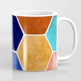 Painted Terra Cotta Coffee Mug