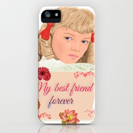 Nellie Oleson in the little house iPhone Case