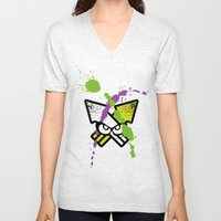 Splatoon - Turf Wars 2  Unisex V-Neck