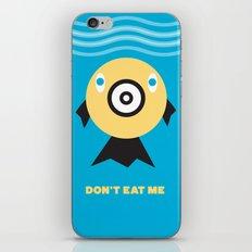 Don't Eat Me Vegan Fishie Art iPhone & iPod Skin