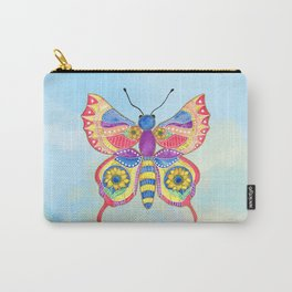Butterfly V on a Summer Day Carry-All Pouch