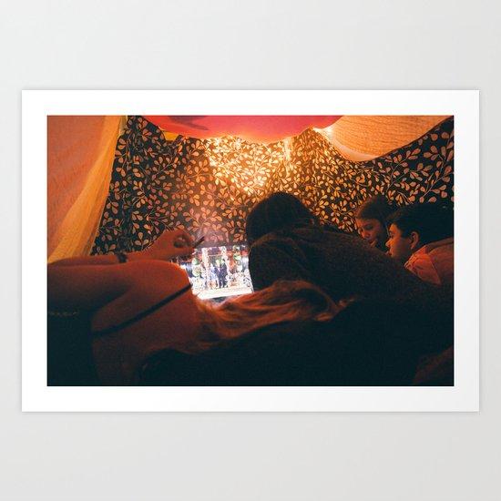 Blankets Art Print