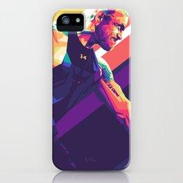 Dwayne Johnson Pop Art iPhone Case