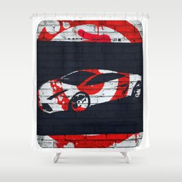 Gallardo Jap Shower Curtain