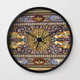 SICILIAN ART DECO Wall Clock
