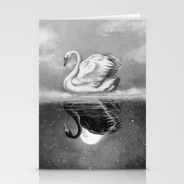 Dark Mirror  Stationery Cards