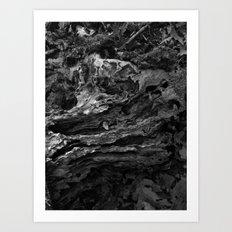 wood Art Print