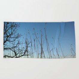 Prairie Twilight Beach Towel