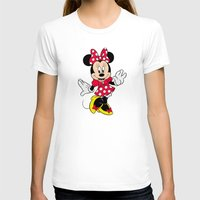 minnie mouse T-shirts featuring Cute Minnie Mouse by Yuliya L