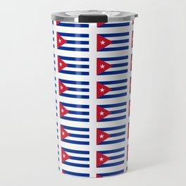 Flag of Cuba 2 -cuban,havana, guevara,che,castro,tropical,central america,spanish,latine Travel Mug