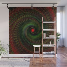 Spiral Madness Wall Mural