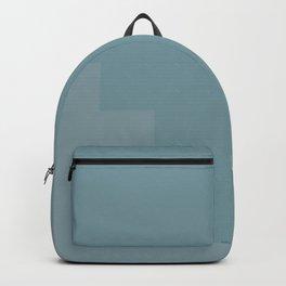 Pastel blue pattern Backpack