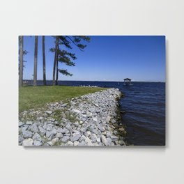 Beautiful Blues Metal Print