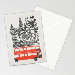London Cityscape Stationery Cards