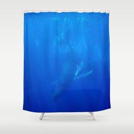 Underwater Humpbacks 9 Shower Curtain