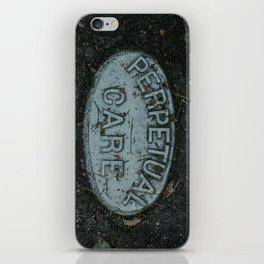 Perpetual Care iPhone Skin
