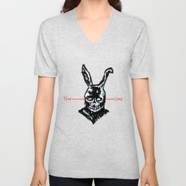 Donnie Darko: FEAR • FRANK • LOVE Unisex V-Neck