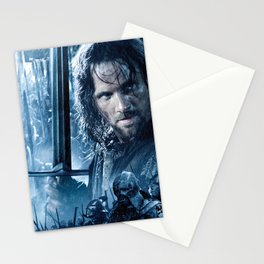 AragornWithSword Stationery Cards