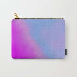 pink blue purple Carry-All Pouch
