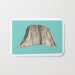 Cave, reverse cave. Bath Mat