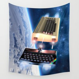 Commodore 64 vs Sinclair ZX Spectrum Wall Tapestry