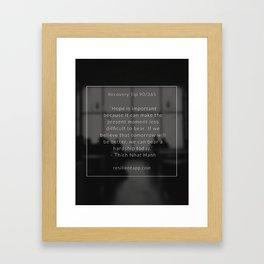 Recovery Tip #90 Framed Art Print