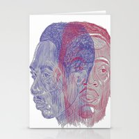 tupac Stationery Cards featuring You Got the Juice Now, Kid by Dazed N Amused