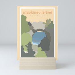 Mackinac Island Michigan  Mini Art Print