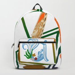 Hawaii abstract Backpack