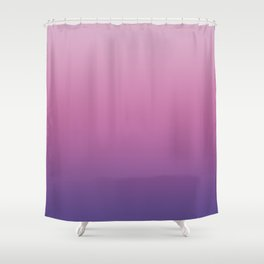Pink Ultra Violet Ombre Gradient Pattern Shower Curtain