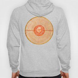 Declination of a Red Sun Hoody