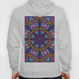 Arabesque kaleidoscopic Mosaic G519 Hoody