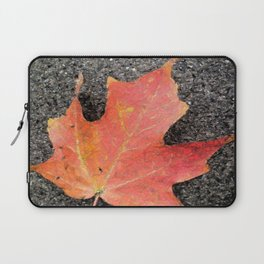 Water color of a sugar maple leaf Laptop Sleeve