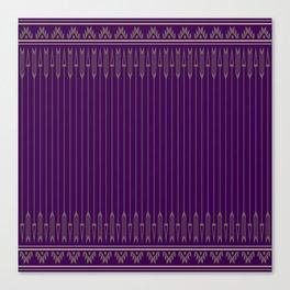 Arrows (Purple) Canvas Print