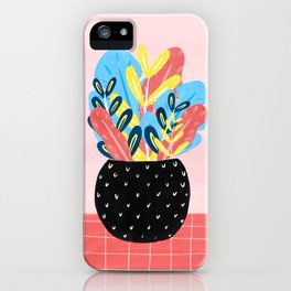 Pastel Florals iPhone Case