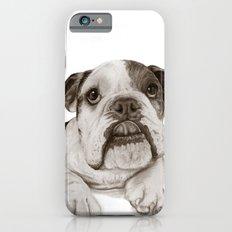A Bulldog Puppy :: Brindle  Slim Case iPhone 6s