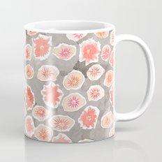 Watercolor flowers pink and gray by robayre Mug