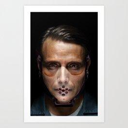 Hannibal Masked Art Print