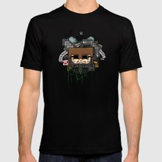 CRAFT - Book Cover Mens Fitted Tee SMALL Black
