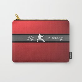Strong Kung Fu Speedform Laptop Skin Carry-All Pouch